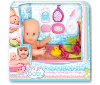 32003 Пупс Плей Беби, 32 см, с ванночкой для купания, Play Baby