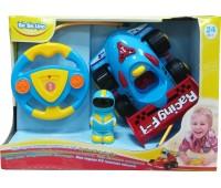 58040-3 Моя первая гоночная машина на Р/У (синяя), BeBeLino