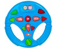 58083-1 Мой первый интерактивный руль (голубой), BeBeLino