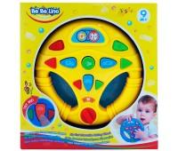 58083-2 Мой первый интерактивный руль (желтый), BeBeLino