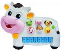 58089-1 Интерактивная панель Музыкальная коровка (розовая), BeBeLino