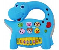 58090-1 Интерактивная панель Музыкальный динозавр (голубая), BeBeLino