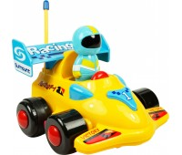 58040-1 Моя первая гоночная машина на Р/У (желтая), BeBeLino