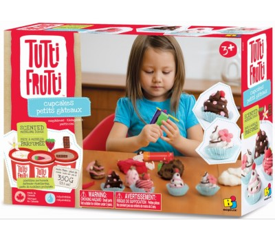 BJTT14805. Кекси, набор для лепки. Tutti Frutti