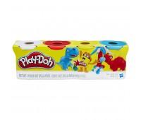 B5517. Набор из 4 баночек (в ассорт.). Play-Doh
