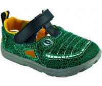 3540325300. Gator Сандалии Аллигатор Жак (Зеленый/Черный). Zooligans