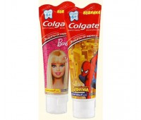 267794. ЗП COLGATE Барби / Человек-паук для детей от 6 лет 75 мл. Colgate