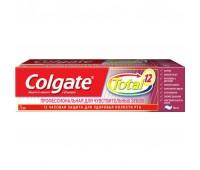 CN03106A. ЗП COLGATE Total 12 // Профессиональная для чувствительных зубов 75мл. Colgate