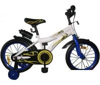 16K128 - WHITE. Велосипед двухколёсный 16K128 - WHITE with Blue (Белый с голубым). Miracolo. 8328
