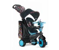 8005102. Велосипед Smart Trike Boutigue 4 в 1 черно-синий. Smart Trike