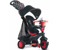 8005202. Велосипед Smart Trike Boutigue 4 в 1 черно-красный. Smart Trike