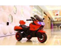 Электромобиль T-7224 RED мотоцикл 2*6V4AH мотор 2*20W с MP3 106*55*74 /1/