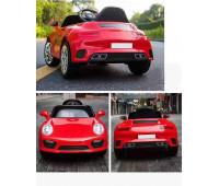 Электромобиль T-7642 EVA RED легковая на Bluetooth 2.4G Р/У 2*6V4.5AH мотор 2*20W с MP3 103*66*49 /1/