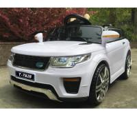 Эл-мобиль HJ-5555 (T-7828) EVA WHITE джип на Bluetooth 2.4G Р/У 2*6V4.5AH мотор 1*25W с MP3 92*59*45