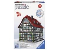 Пазл 3D Средневековый дом, 216 элементов, Ravensburger