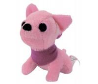 Мини-модница Чихуахуа, розовая собачка, с повязкой, 10 см. Chi Chi Love