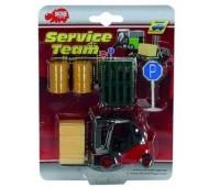 Мини-набор Спасательная служба (красный), Dickie Toys