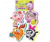 Смешарики, Baby Puzzle (VT1106-49), Vladi Toys