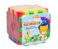 Волшебный куб-сортер - развивающая игрушка, 12 элементов,