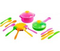 Ромашка, набор столовой посуды, 20 предметов, Тигрес