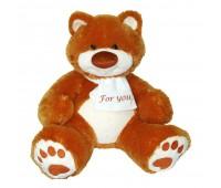 Мягкая игрушка медведь Мемедик (бурый) 50 см, For you, Тигрес