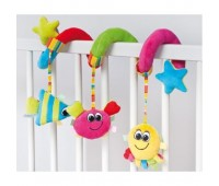 Плюшевая подвеска-спираль Разноцветный океан, Canpol babies