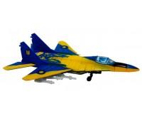 Модель истребителя МиГ-29 UA colors - конструктор, 1:144, 4D Master