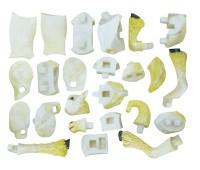 Клейдесдальская белая лошадь-тяжеловоз - объемный конструктор, 4D Master