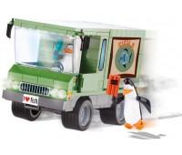 Конструктор Рыбовоз, серия The Penguins of Madagascar, Cobi
