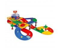 Kid Cars 3D - гараж c трасcой (5,5 м), Wader