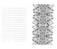 Дивовижні візерунки, Антистрес-блокнот