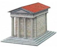 Храм Ники Аптерос, Сборная модель из картона, Умная бумага