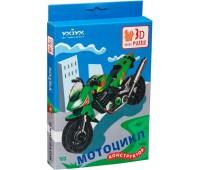 Мотоцикл, Сборная модель из картона, Умная бумага