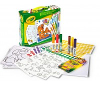 Набор для раскрашивания с фломастерами и наклейками (600+), Crayola