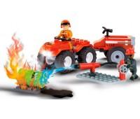Конструктор Пожар на АЗС, серия Action Town, Cobi