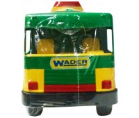 Middle Truck - бетономешалка с зелёной кабиной, 36 см, Wader