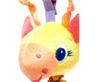 Игрушка-подвеска с вибрацией Желтый жираф, Bright Starts