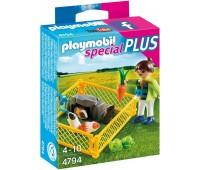 Девочка с морскими свинками (4764), Playmobil