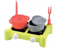Плита и посуда (7 аксессуаров), игровой набор, Ecoiffier