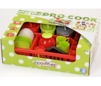 Набор посуды Pro-Cook в сушилке, Ecoiffier