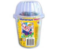 Магнитный пазл в стаканчике Нюша, Смешарики, Vladi Toys