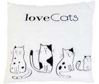 Подушка Love cats, Тигрес