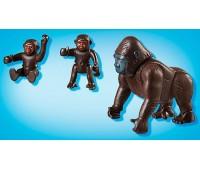 Игровой набор Горилла с детенышами, Playmobil
