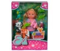 Набор с куклой Эви Африканские животные, Steffi & Evi Love