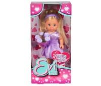 Кукла Эви Подружка невесты в фиолетовом с цветами, Steffi & Evi Love