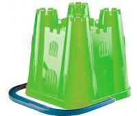 Ведерко-башня квадратное (зеленое), Ecoiffier