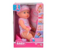 Пупс Симба с аксессуарами в розовом комбинезоне, 30 см, New Born Baby