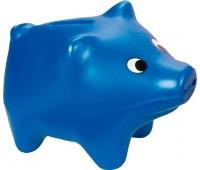 Свинка-копилка (синяя), Lena