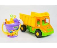 Multi truck грузовик с набором для песка 8 эл., Wader