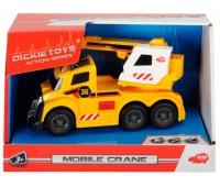 Функциональный автомобиль с раскладным краном, со светом и звуком (15 см), Dickie Toys